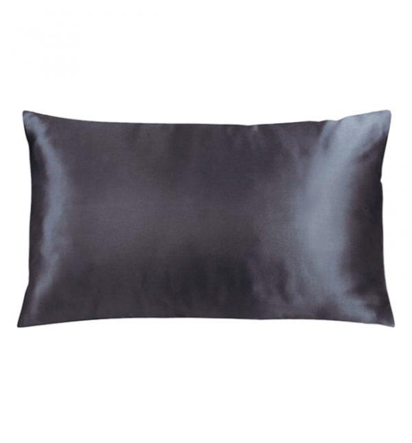 Lessinly Silk Pillowcase - black