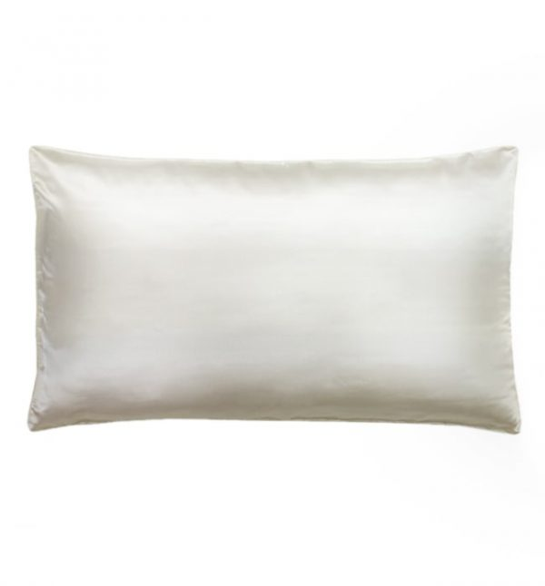 Lessinly Silk Pillowcase - white