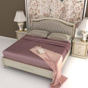 silk duvet cover old rose - Lessinly