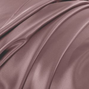 Lessinly silk duvet cover - Mauve