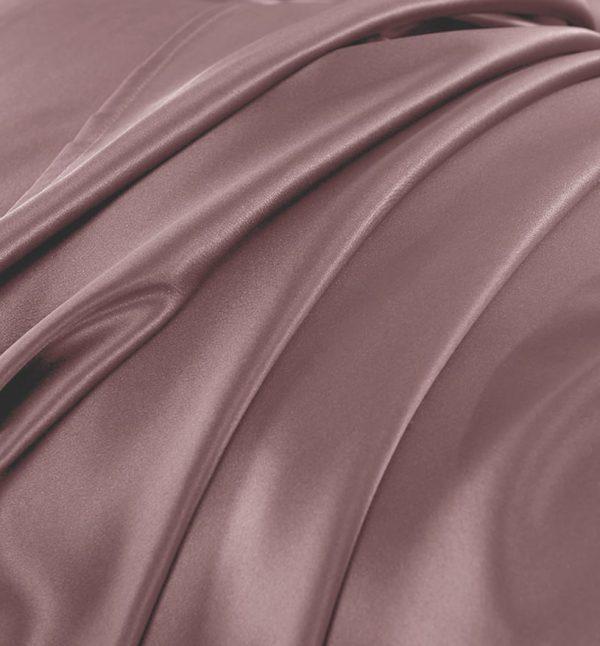 Lessinly silk duvet cover - Mauve
