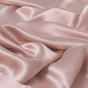 Lessinly silk duvet cover - Misty Rose