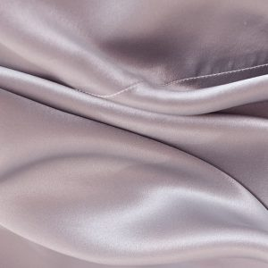 Lessinly silk flat bed sheet - Lavender Gray